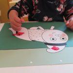 el tió de nadal a infants bambi blanes
